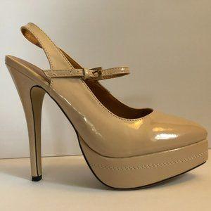 Nude High Heels Size 8.5